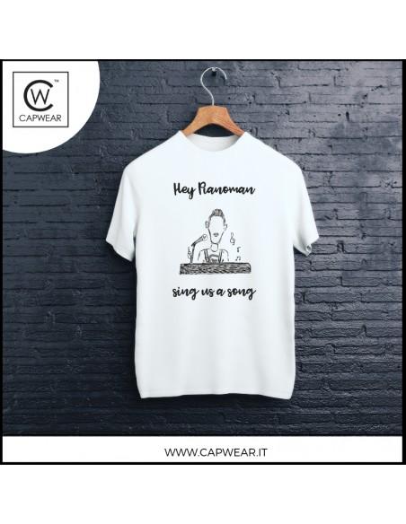 T-Shirt pianista