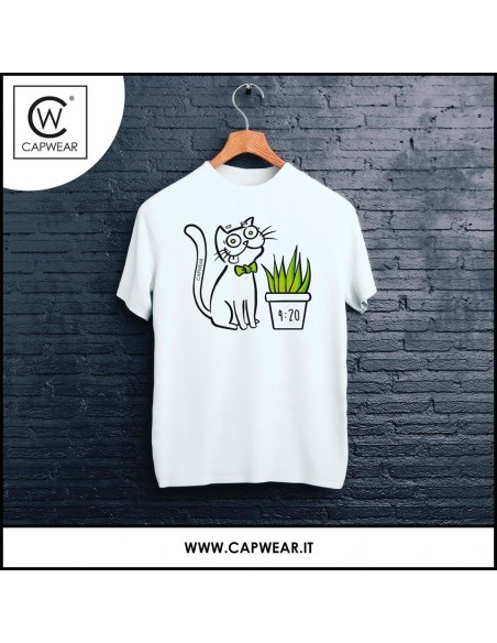 T-shirt CAPWEAR 4:20 hemp